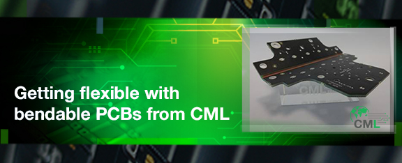 Getting flexible with bendable PCBs from CML